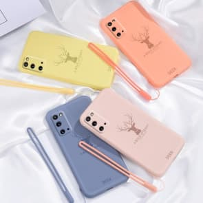 Samsung S20 / S20 Plus Silicon Deer Pattern Phone Case