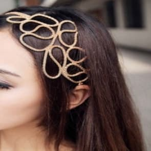 Gold Floral Design Headband