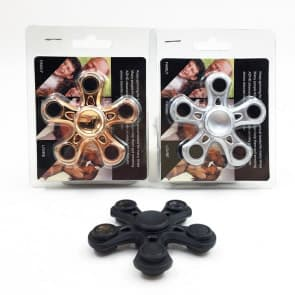 Jayden Stress Reducer Fidget Hand Five Quinary Spinner