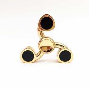 Zayden Spin Wars Fidgety Hand Spinner Toy ~ Gold
