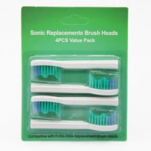 Generic Philips Sonicare E-Series Standard Sonic Toothbrush Heads HX7004