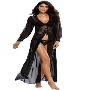 Elva Sexy Lace Sleepwear Lingerie