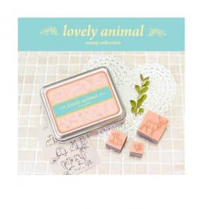 Lovely Animal DIY Funny Stamps