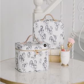 Storage Travel Toiletry Wash Cosmetic Bag Case Organizer