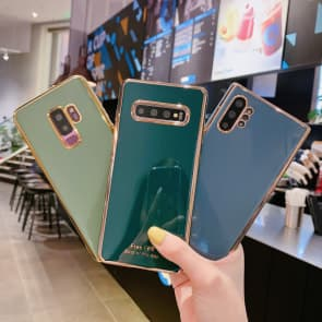 Samsung Note 10 / S10 / S20 Series Edge Plating Phone Case  Color