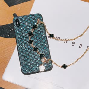 Samsung Galaxy S10 / S20 Series Glitter Phone Case With Strap