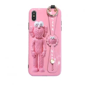 iPhone Kaws Pink Sesame Street Phone Case
