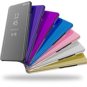 Samsung S20 mirror cover phone case color