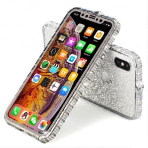 iPhone Glitter Diamond Border Phone Case