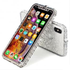 iPhone Glitter Diamond Border Phone Case