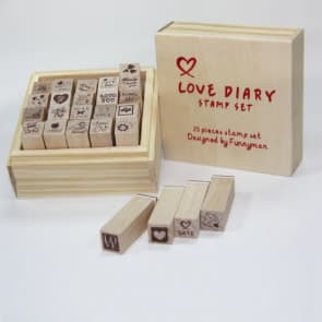Love Diary Stamp Set