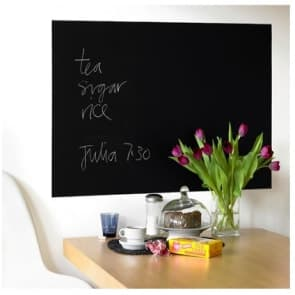 Blackboard Decor Vinyl Dry Erase Self Adhesive Wall Sticker