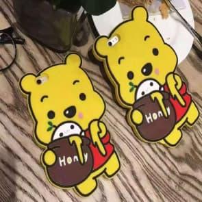 iPhone 6/6S Case, Cute Bear 3D Japan Cartoon Soft Silicone Cover