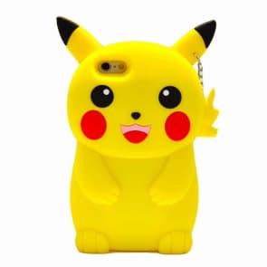 3D Cartoon Design Soft Silicone Phone Case for iPhone 6 Plus