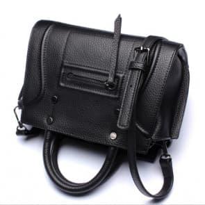 Classic Shoulder Daily Bag ~ Black