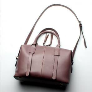 Classic Shoulder Bag ~ Light Brown