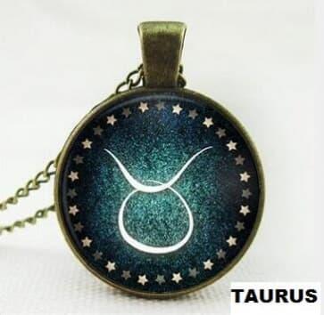 Horoscope Necklace Pendant