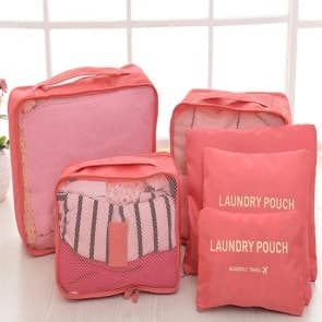 Waterproof Travel Pouch 6 Pieces Sets