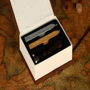 Vintage Special Wax Sealing Stamps Box Set
