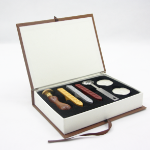 Initial Letter Wax Sealing Stamps Box Set